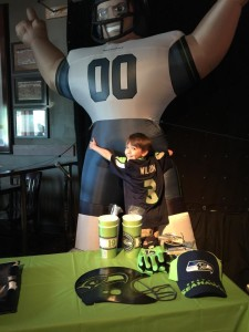 Fan & Buddy the Seahawks Inflatable
