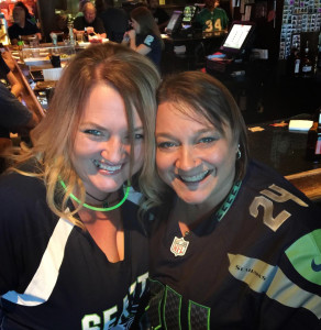 Shannon & Tracey on Game Day