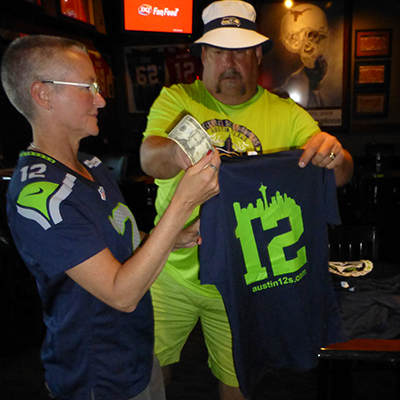 Seattle Seahawks Booster Club t-shirts are in!