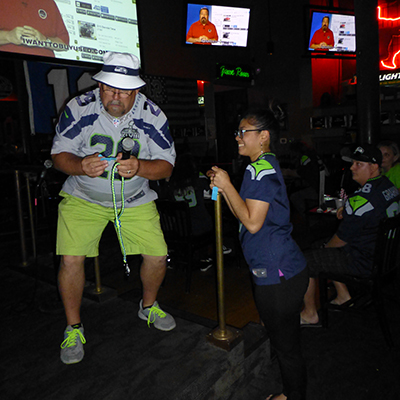 Seahawks prize drawing winner