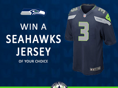 We're Giving Away A Seahawks Jersey This Monday Night!